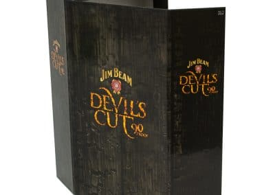 Custom Spirits Liquor Box Jim Beam