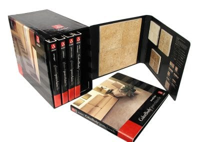 Casemade Tile Sample Kit Binder and Box Daltile