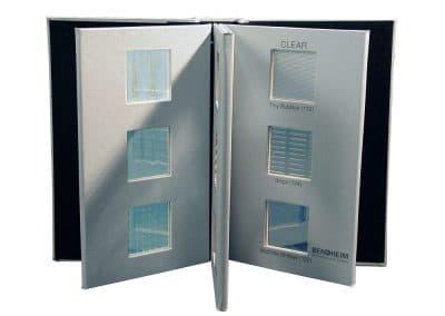 Glass Sales Sample Kit Vulcan Open
