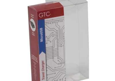 Plastic USB Charger Package GTC